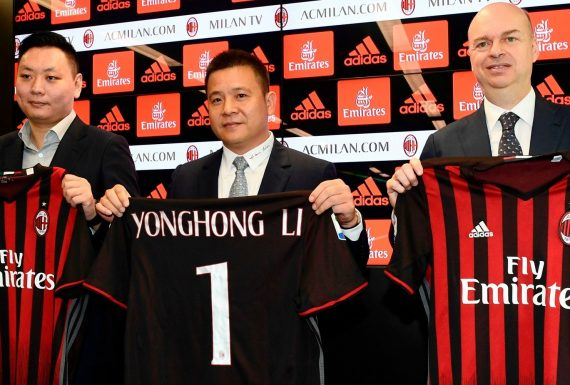 O frenético e ambicioso mercado do Milan