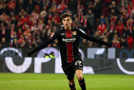 Olhar 4-3-3: Kai Havertz