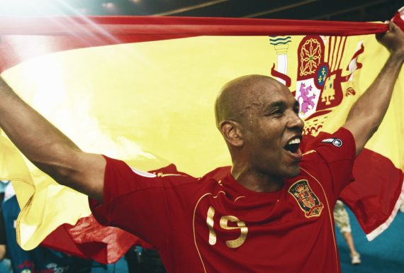 The first Brazilian to win an Euro Cup – Marcos Senna